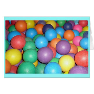 Birthday Ball 3 Stationery Note Card