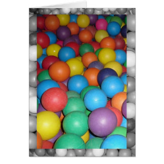 Birthday Ball 4 Stationery Note Card