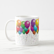 BIRTHDAY BALLOON MUGS  CUSTOMIZE
