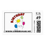 Birthday balloon stamp, Cakes By Mail