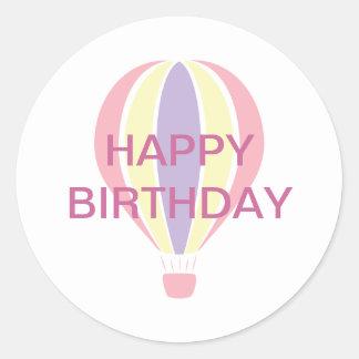 Birthday Balloon Sticker