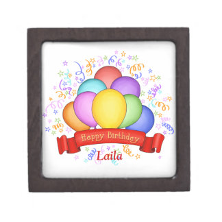 Birthday Balloons & Banner Premium Gift Box