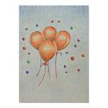 Birthday Balloons Invites