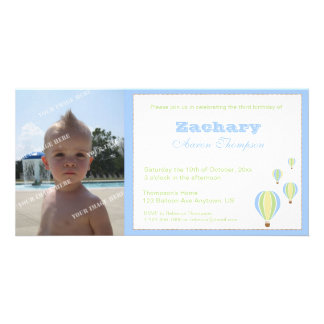 Birthday Balloons Party Invitation