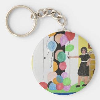 Birthday Balloons Surprise Keychain
