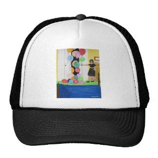 Birthday Balloons Surprise Trucker Hat