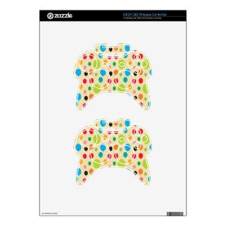 Birthday Balloons Xbox 360 Controller Decal