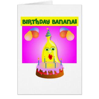 Birthday Banana Card