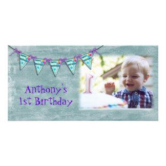 Birthday Banner Photo Card
