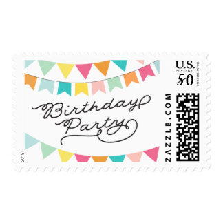 Birthday Banners Postage