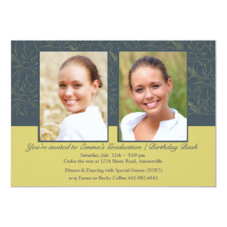 Birthday Bash/ Graduation Photo Invitation