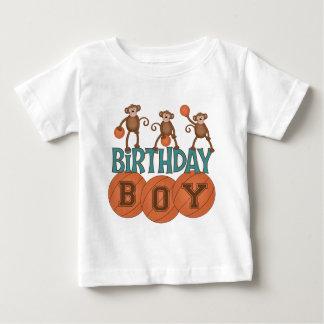 Birthday Basketball Boy Baby T-Shirt