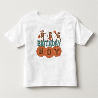 Birthday Basketball Boy Toddler T-shirt