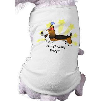Birthday Basset Hound Shirt