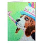 Birthday Beagle Cards