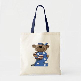 Birthday Bear 2 Tote Bag