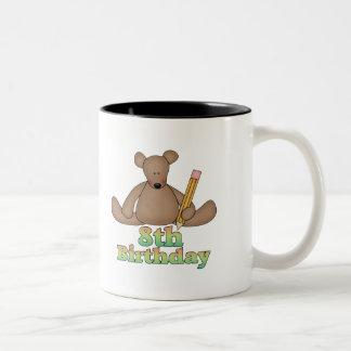 Birthday Bear 8th Birthday Gifts Coffee Mug