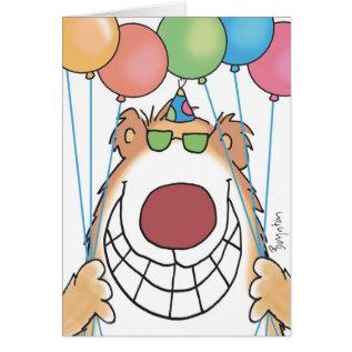 BIRTHDAY BEAR CARD at Zazzle