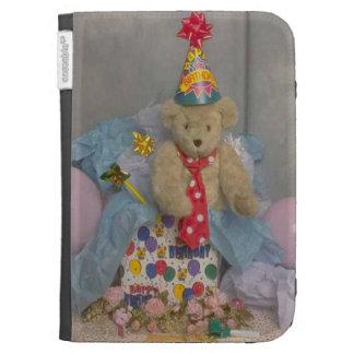 Birthday Bear Kindle Cover