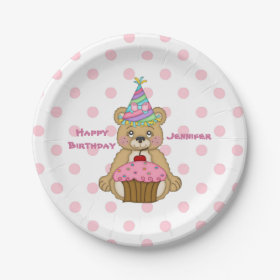 personalized paper plates