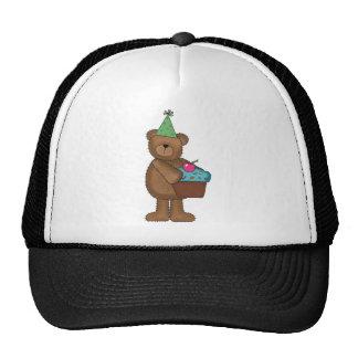 birthday bear trucker hat