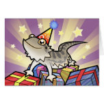 Birthday Bearded Dragon / Rankin Dragon Greeting Cards