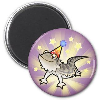 Birthday Bearded Dragon / Rankin Dragon Magnets