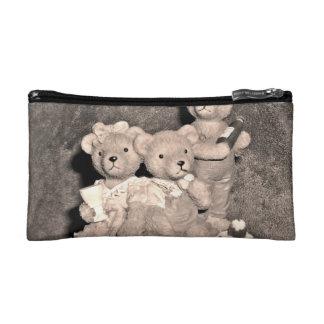 Birthday bears makeup bag