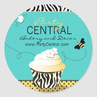 Birthday Bee Business Sticker