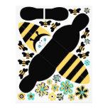 """Birthday Bee Favor Box B 8.5"""" X 11"""" Flyer"""