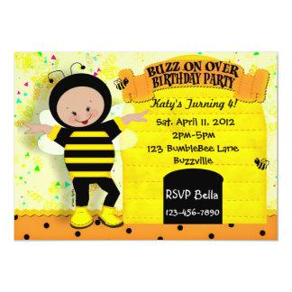 Birthday Bee Invitation