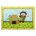 Birthday Bee Placemat placemat