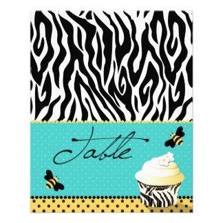 Birthday Bee Table Card 2