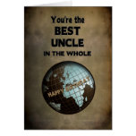 BIRTHDAY- BEST UNCLE IN THE WORLD GREETING CARD