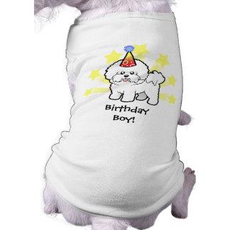 Birthday Bichon Frise Pet Tee Shirt