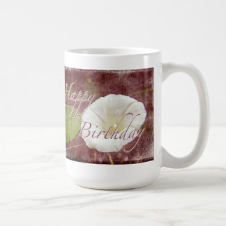 Birthday Bindweed - Wild Perennial Morning Glory Coffee Mug