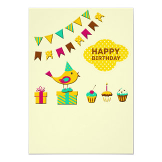 Birthday Bird Cards