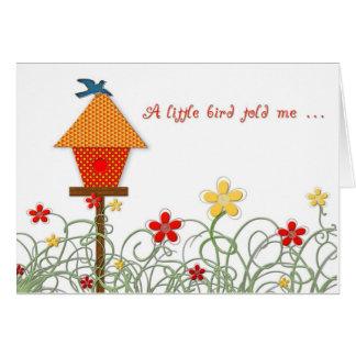 Birthday Birdhouse Cards