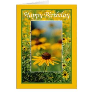 Birthday - Black-Eyed Susans Greeting Card