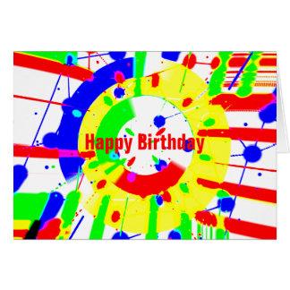 Birthday Blast Greeting Card