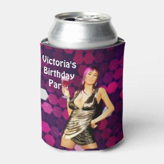 Birthday Bling Custom Can Cooler