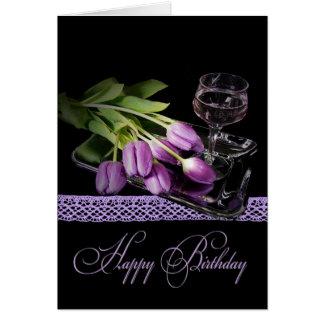 Birthday Blush Card