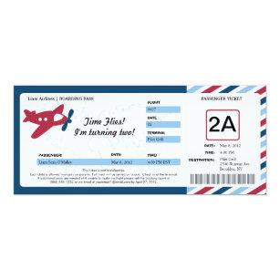 Boarding Pass Invitations Zazzle