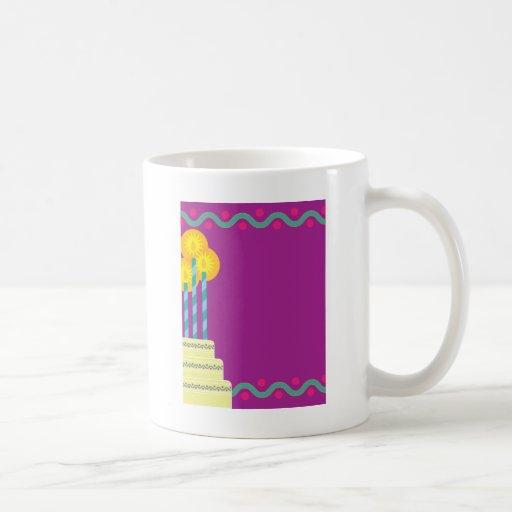 Birthday Border Classic White Coffee Mug