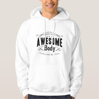 Birthday Born 1965 Awesome Body Hoodie