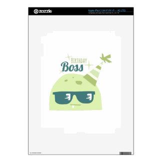 Birthday Boss Skin For iPad 3