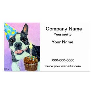 Birthday Boston Business Card