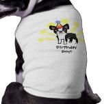 Birthday Boston Terrier Shirt