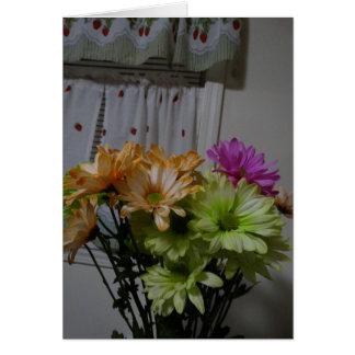 Birthday Bouquet, Beautiful Lady Card