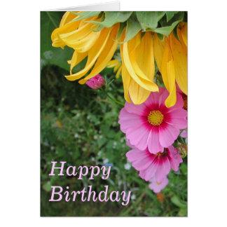 Birthday Bouquet Card